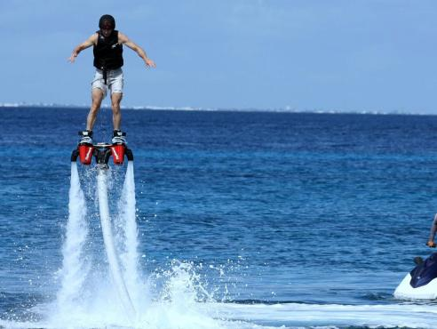 Flyboarding 30 Minutes Flyboard Water Sports Tour Montego Bay Jamaica